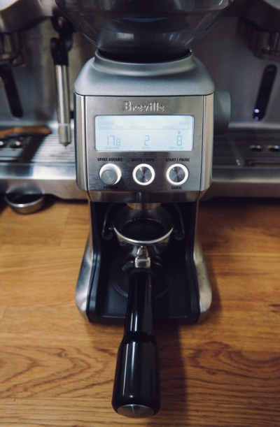 Coffee Grinder Empty Group Head