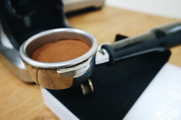 Tamped Coffee