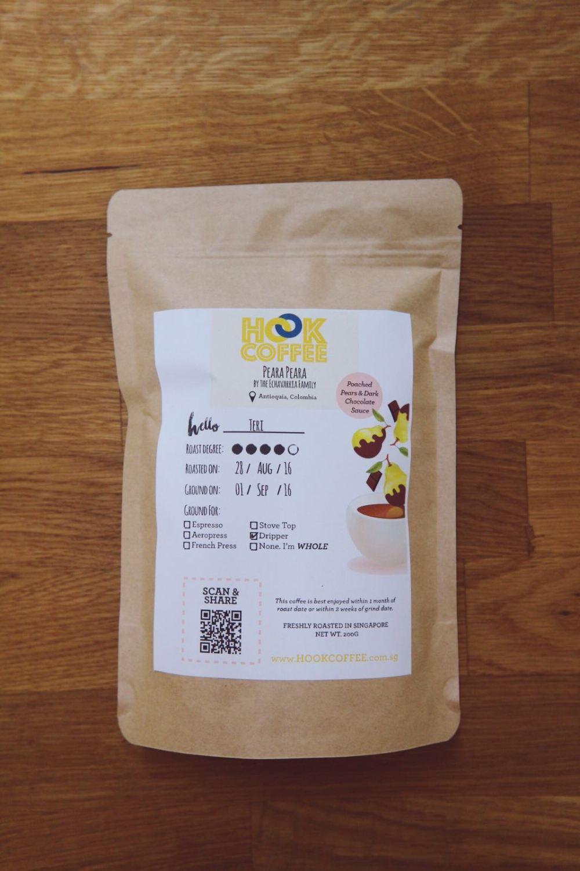 hook coffee packaging